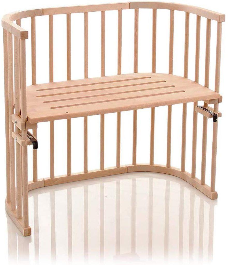 Le lit Babybay cododo Original est conçu avec du bois de hêtre.