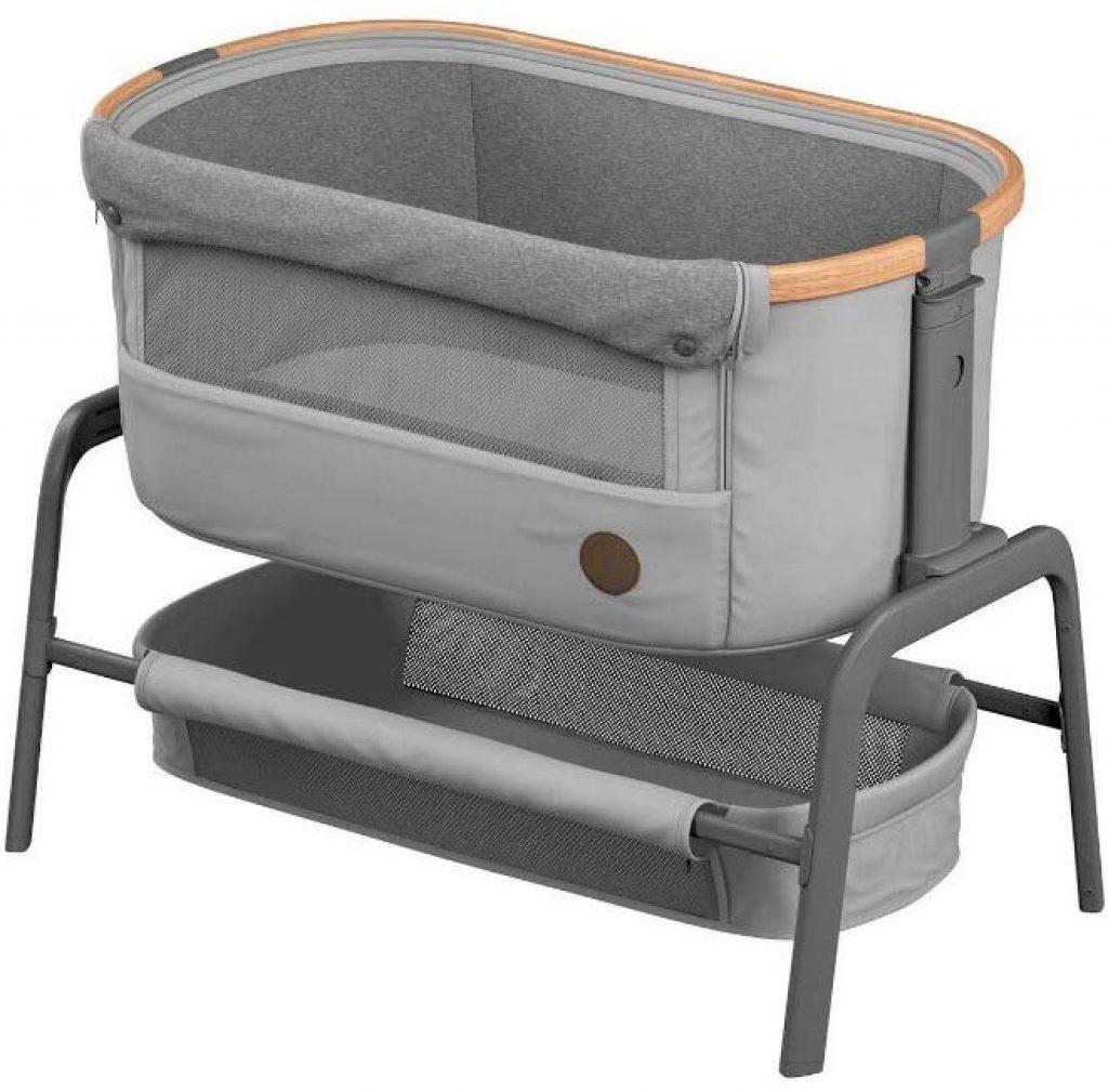 Le lit d'appoint Bébé Confort Iora a un large panier de rangement.