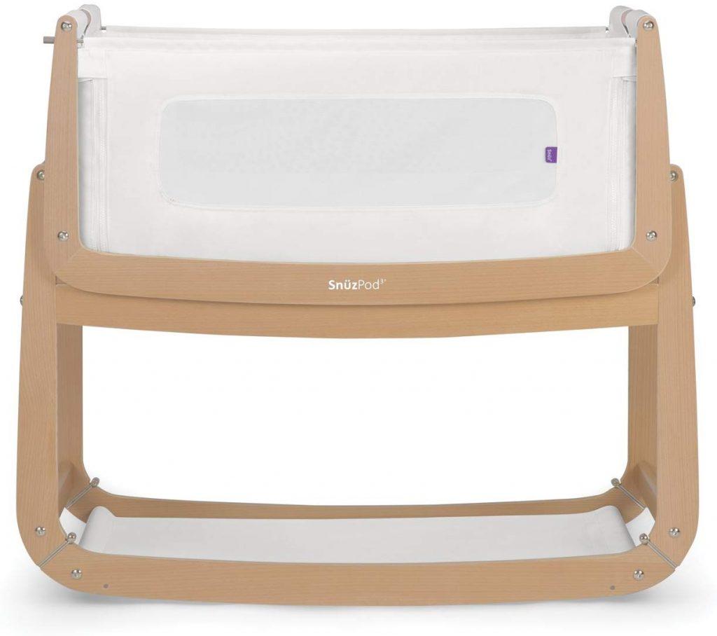 Le lit bébé Snuzpod 3 dispose d'un matelas intégré.